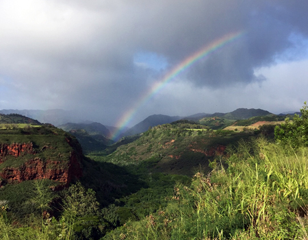 Hawaii is Called The Rainbow State for a Reason