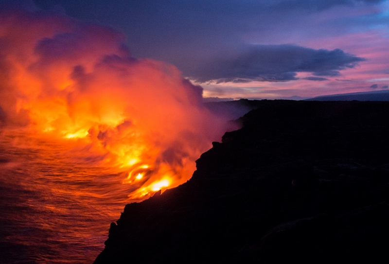 Hawaii is One of the Few Places With an Active Volcano
